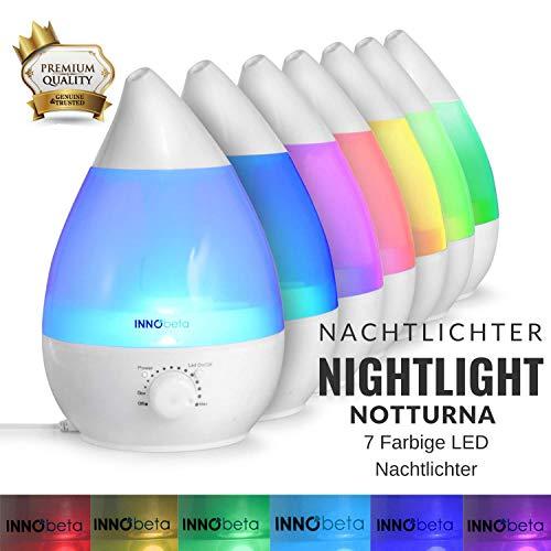 InnoBeta® 2,4 Liter Ultraschall-Luftbefeuchter Cool Mist - 2