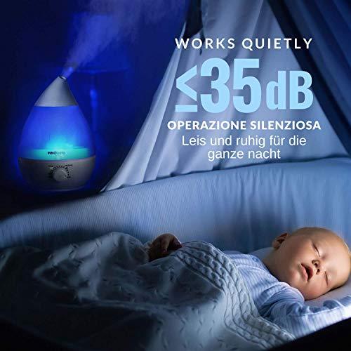 InnoBeta® 2,4 Liter Ultraschall-Luftbefeuchter Cool Mist - 3