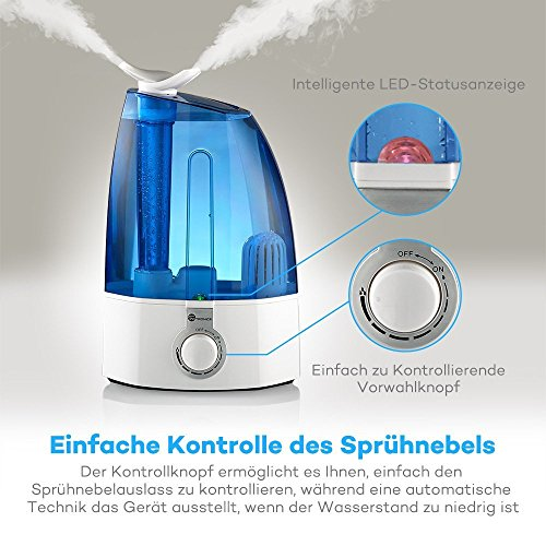 Luftbefeuchter TaoTronics Ultraschall Luftbefeuchter - 4