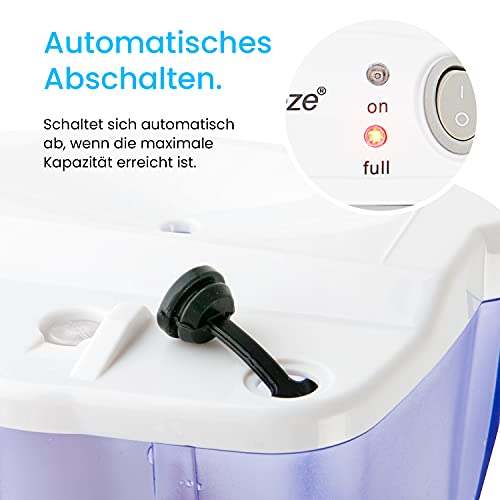 Pro BreezeTM 500ml kompakter und tragbarer Mini Luftentfeuchter - 5