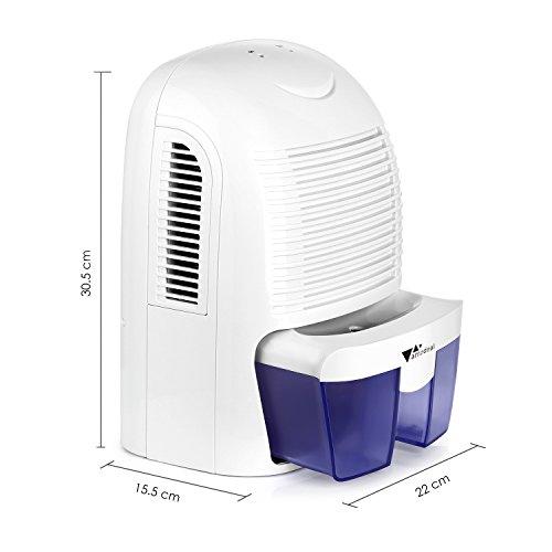 amzdeal Luftentfeuchter Raumentfeuchter (700ml/24h) - 3