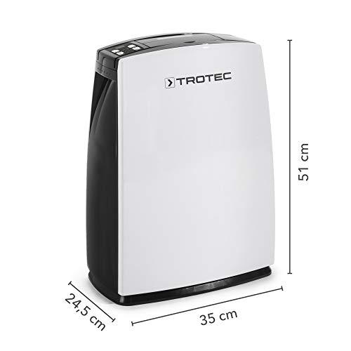 TROTEC Luftentfeuchter TTK 29 E (max. 10 l/Tag) - 2