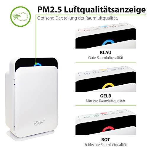 HEPA Luftreiniger mit Ionisator HIMOP-Filter alfda - 4