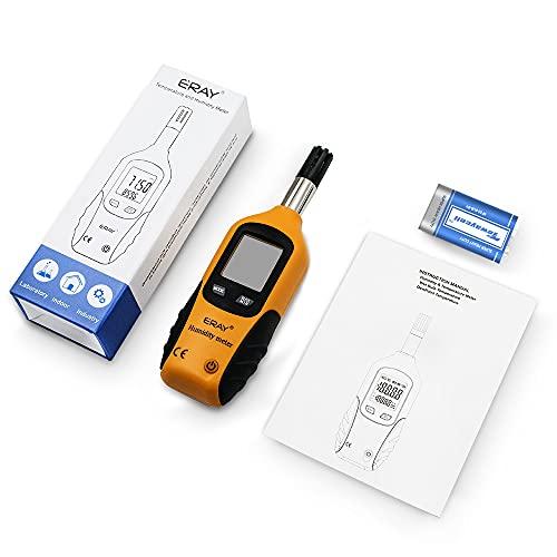 Sunray Psychrometer Thermo-Hygrometer Digital Temperatur und Luftfeuchtigkeit Meter Thermometer Hygrometer mit Taupunkt und Feuchtkugel - 7