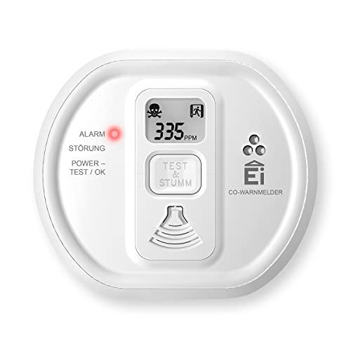 Ei Electronics Ei208D 10-Jahres-Kohlenmonoxidwarnmelder, 1 Stück