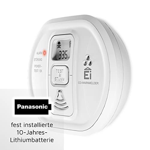 Ei Electronics Ei208D 10-Jahres-Kohlenmonoxidwarnmelder, 1 Stück - 2