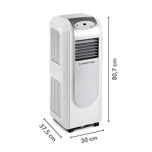 TROTEC Lokales Klimagerät PAC 2000 E mit 2,1 kW (7.200 Btu) - 2