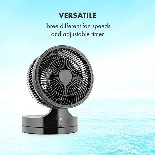 Klarstein • Touchstream • Ventilator • Tischventilator • Mini Ventilator – mit Fernbedienung schwarz - 2