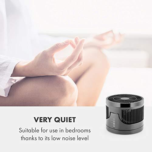 Klarstein • Touchstream • Ventilator • Tischventilator • Mini Ventilator – mit Fernbedienung schwarz - 7