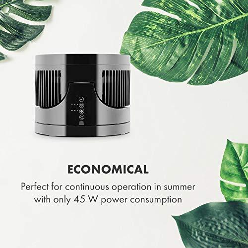 Klarstein • Touchstream • Ventilator • Tischventilator • Mini Ventilator – mit Fernbedienung schwarz - 6