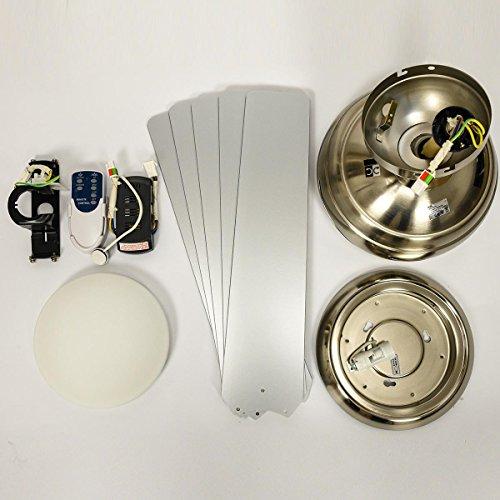 aireRyder Deckenventilator mit Licht und Fernbedienung Fresco - 11