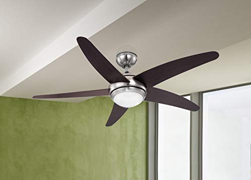 Globo 0306 Deckenventilator – nickel matt - 2