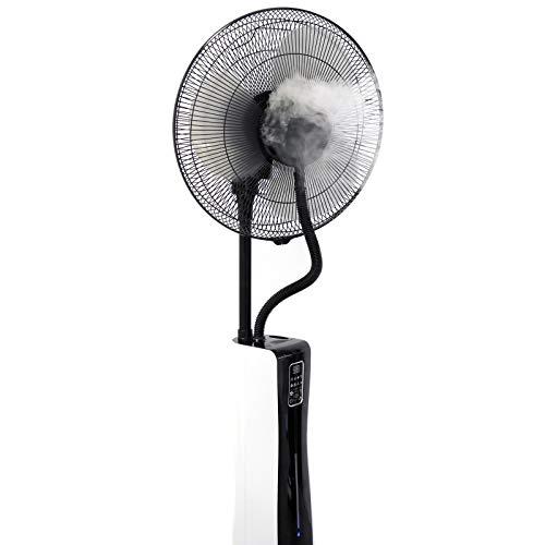 VASNER leiser Stand-Ventilator Cooly mit Ultraschall-Sprühnebel Wasser & Fernbedienung - 3