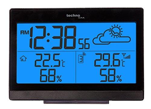Wetterstation WS 9252 mit Vorhersage der Wetterlage, sowie Innen- und Außentemperatur - 2