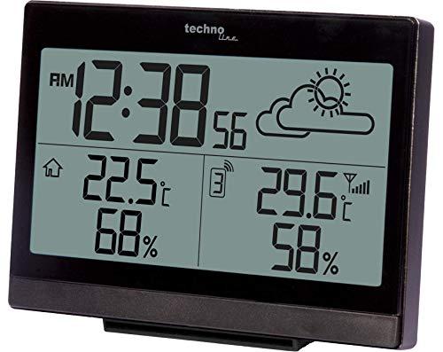 Wetterstation WS 9252 mit Vorhersage der Wetterlage, sowie Innen- und Außentemperatur - 3