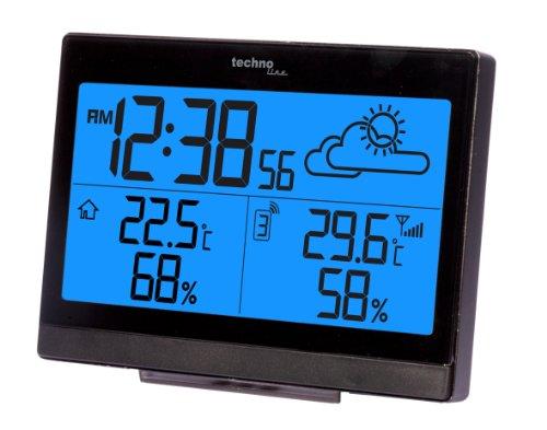 Wetterstation WS 9252 mit Vorhersage der Wetterlage, sowie Innen- und Außentemperatur - 4