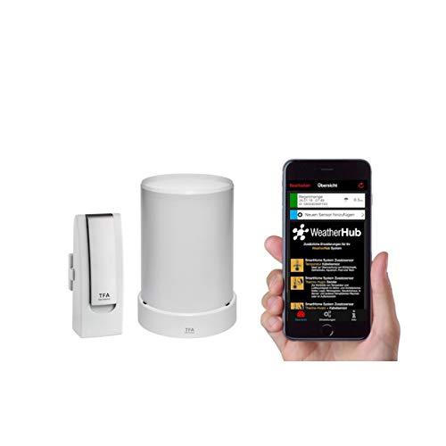 TFA Dostmann Wetterstation für Smartphones Starter-Set 3 mit  Regensender  31.4003.02