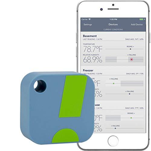 SensorPush – kabelloses smartes Thermometer und Hygrometer für iPhone / Android