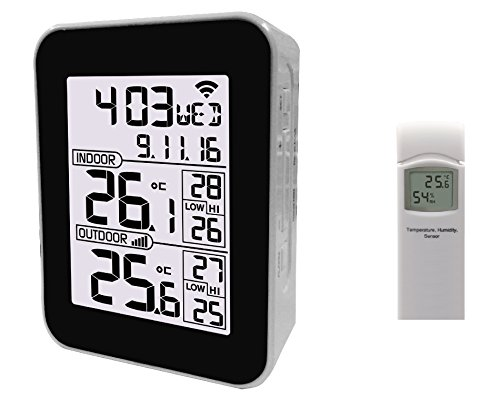 Funk Thermometer Froggit WH2626 - WiFi Internet Thermometer (Temperatur, Luftfeuchtigkeit)