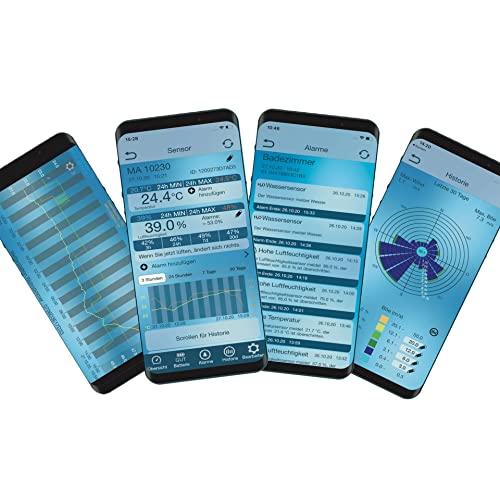 """TECHNOLINE Wetterstation Haus-Überwachungs-System """"Mobile – Alerts"""" - 2"""