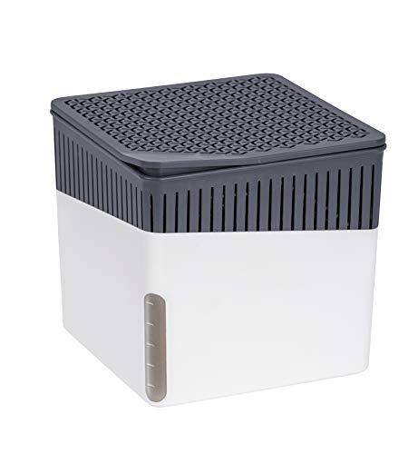 Wenko 50220100 Design Raumentfeuchter Cube 1000 g Luftentfeuchter