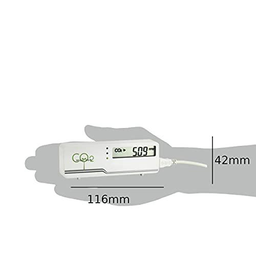 TFA Dostmann CO2-Messgerät AirCO2ntrol, mini, weiß - 3