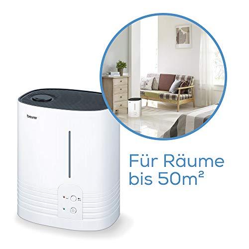 Beurer LB 55 Luftbefeuchter – Verdampfer für mehr Luftfeuchtigkeit - 4