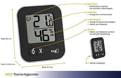 TFA 30.5026.01 Dostmann digitales Thermo-Hygrometer Moxx - 4
