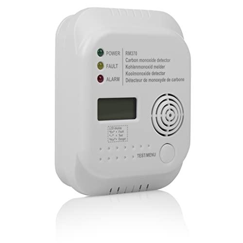 Smartwares RM370 Kohlenmonoxid CO Melder mit Display und Temperaturanzeige