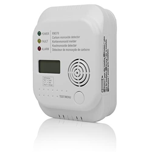 Smartwares RM370 Kohlenmonoxid CO Melder mit Display und Temperaturanzeige - 2