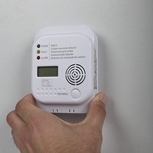 Smartwares RM370 Kohlenmonoxid CO Melder mit Display und Temperaturanzeige - 13