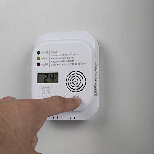Smartwares RM370 Kohlenmonoxid CO Melder mit Display und Temperaturanzeige - 14