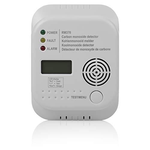 Smartwares RM370 Kohlenmonoxid CO Melder mit Display und Temperaturanzeige - 3