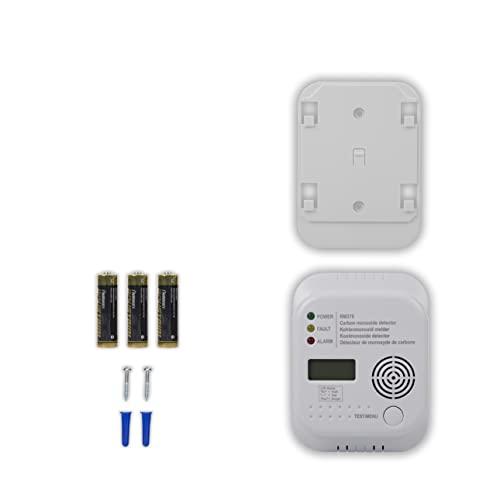 Smartwares RM370 Kohlenmonoxid CO Melder mit Display und Temperaturanzeige - 7