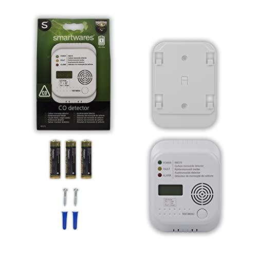 Smartwares RM370 Kohlenmonoxid CO Melder mit Display und Temperaturanzeige - 8
