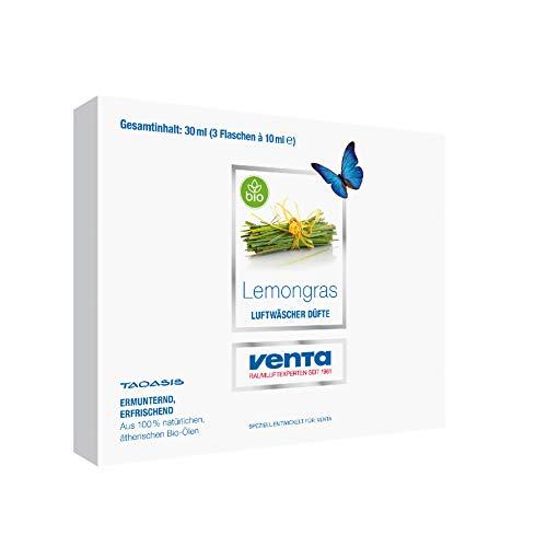 Venta Bio-Duft Lemongras, 100% natürliche ätherische Bio-Öle, 3 x 10 ml - 2