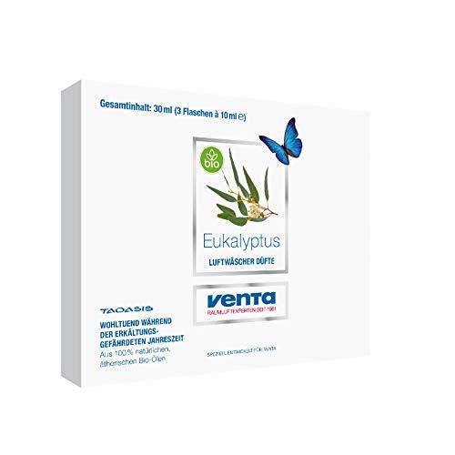 Venta Bio-Duft Eukalyptus, 100% natürliche ätherische Bio-Öle, 3 x 10 ml - 2
