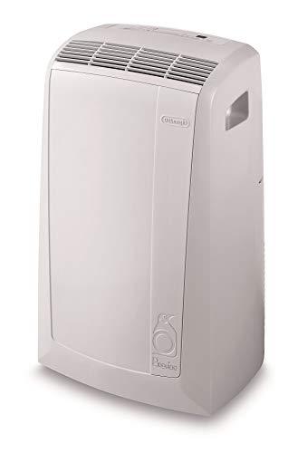 De'Longhi Pinguino PAC N82 Eco Silent - mobiles Klimagerät mit Abluftschlauch, leise Klimaanlage für Räume bis 80 m³, Luftentfeuchter, Ventilationsfunktion, 12h-Timer, 2,4 KW, 75 x 45 x 39,5 cm, weiß - 2