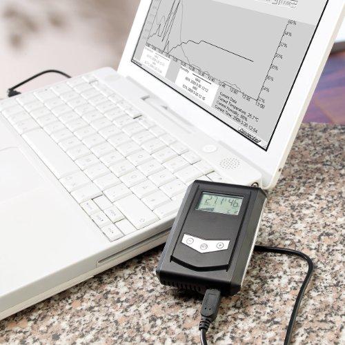 FreeTec USB-Temperatur- und Luftfeuchtigkeits-Datenlogger - 3