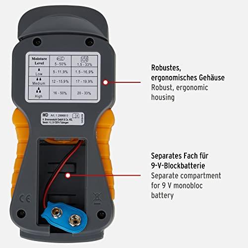 Brennenstuhl Feuchtigkeits-Detector MD 1298680 ohne Batterie - 3