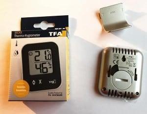 Hygrometer Test - TFA 30.5026.01 Dostmann digitales Thermo-Hygrometer Moxx