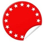 Hinweis Button Rot