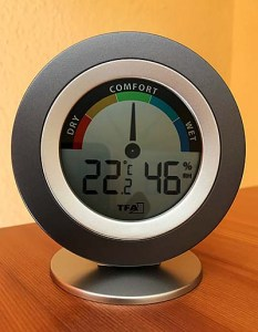 Hygrometer Test: TFA Dostmann Cosy digitales Thermo-Hygrometer