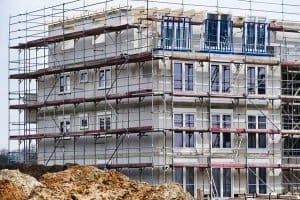 Bautrockner - der Haupteinsatz ist auf der Baustelle